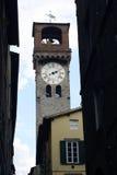 Lucca zegar Włochy Obraz Royalty Free