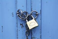 Lucchetto con la catena immagini stock libere da diritti