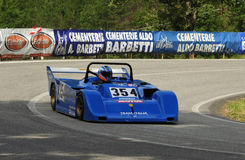 Lucchini SN 87. A Lucchini SN  car driven by Claudio Conti during the 45° Trofeo Luigi Fagioli a competition race of hill-climb for modern cars valid for Stock Photos