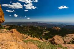 Lucci Colorado di punta immagini stock libere da diritti