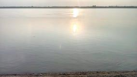 Luccichio dell'acqua di Ganga Immagini Stock Libere da Diritti