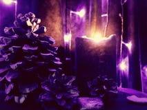 Luce al neon Immagine Stock