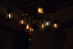 Luce al neon fotografie stock