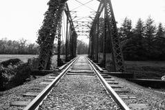 Luce alla fine del tunnel Fotografia Stock