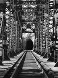 Luce alla fine del tunnel Immagini Stock Libere da Diritti