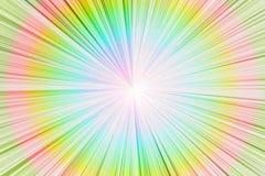Luce astratta del cerchio Immagine Stock