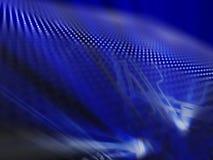Luce blu Fotografie Stock Libere da Diritti