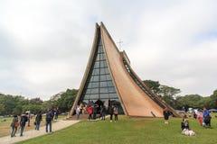 Luce Chapel i det Tunghai universitetet royaltyfria bilder
