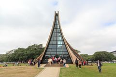 The Luce Chapel in Tunghai university Royalty Free Stock Images