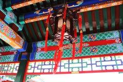 Luce cinese asiatica del palazzo Fotografie Stock Libere da Diritti