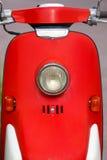 Luce d'annata del motociclo di stile Fotografia Stock
