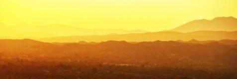 Luce dal tramonto Immagine Stock Libera da Diritti