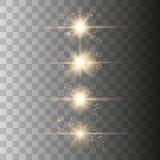 Luce del chiarore della lente ottica royalty illustrazione gratis
