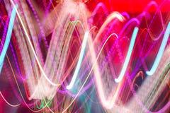 Luce del club di Defocus Indicatori luminosi confusi Fotografie Stock