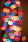 Luce del fondo di Bokeh Fotografie Stock