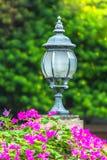 Luce del giardino Fotografia Stock