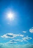 Luce del giorno del cielo. Fotografia Stock