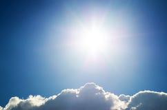 Luce del giorno del cielo. Immagine Stock Libera da Diritti