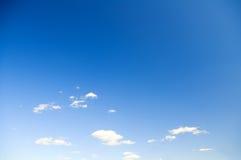 Luce del giorno del cielo Immagine Stock