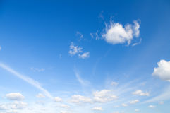 Luce del giorno del cielo Fotografia Stock