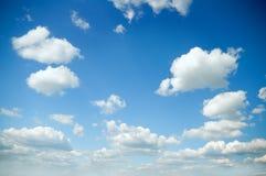 Luce del giorno del cielo Fotografie Stock