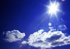 Luce del giorno del cielo. Composizione naturale nel cielo. Immagini Stock Libere da Diritti