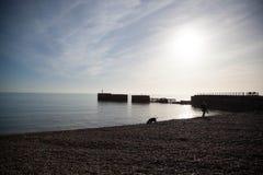 Luce del giorno di Hastings immagine stock libera da diritti