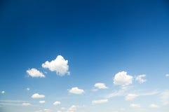 Luce del giorno e nuvole del cielo Immagini Stock Libere da Diritti
