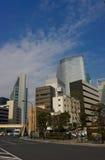 Luce del giorno a Ginza fotografia stock