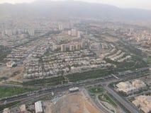 Luce del giorno a Teheran fotografie stock libere da diritti