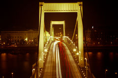 Luce del ponte Fotografie Stock
