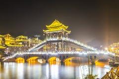Luce del ponte Fotografia Stock Libera da Diritti