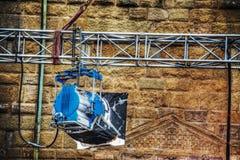 Luce del punto di film in Palazzo Vecchio a Firenze Fotografia Stock Libera da Diritti