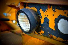 Luce del trattore Fotografie Stock