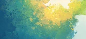 Luce dell'acquerello illustrazione vettoriale