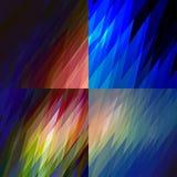Luce dell'aurora boreale Fotografie Stock