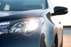 Luce dell'automobile Immagini Stock