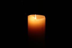 Luce della candela Immagine Stock