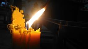 Luce della candela Immagine Stock Libera da Diritti