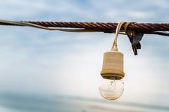 Luce della corda Fotografia Stock Libera da Diritti