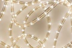 Luce della corda del LED Immagine Stock Libera da Diritti