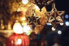 Luce della decorazione Immagini Stock