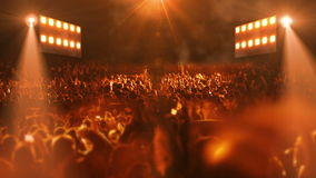 Luce della fase 3d di concerto archivi video