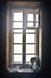Luce della finestra Fotografia Stock