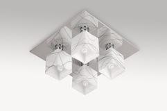 Luce della lampada del soffitto Fotografie Stock Libere da Diritti