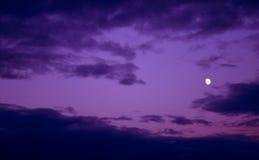 Luce della luna Fotografie Stock
