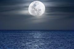Luce della luna Immagine Stock