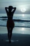 Luce della luna Fotografia Stock Libera da Diritti