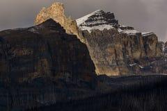 Luce della montagna Fotografia Stock