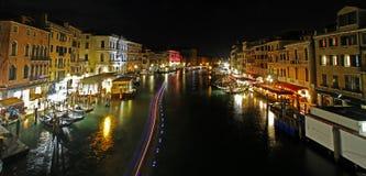 Luce della notte Fotografia Stock